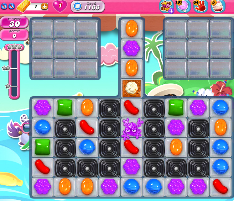 Candy Crush Saga 1166