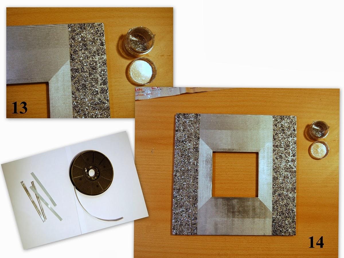 De todas las manualidades marco espejo con papel aluminio - Espejos para manualidades ...