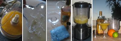 Zubereitungsschritte Frozen Orange Margarita