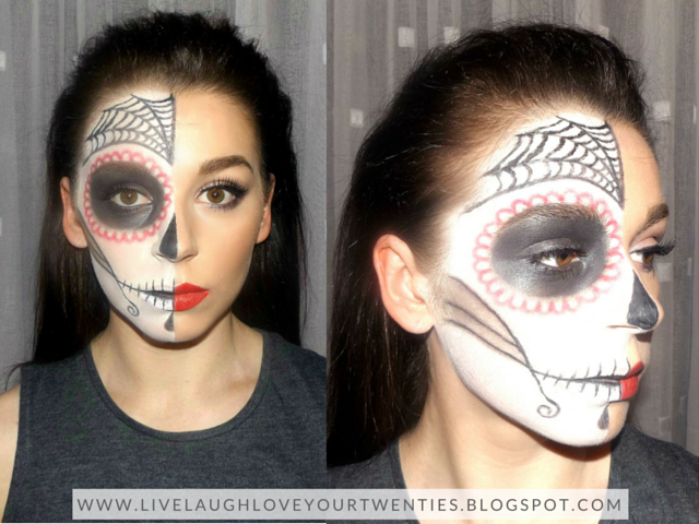 halloween, make up, make up artist, theatre make up, creative, beauty blogger, scary, sugar skull, deer, woodland, animal, vampire, grecian, Egyptian, goddess, cat