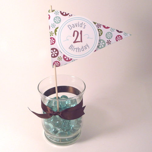 21st birthday ideas a dinner with family that 39 s not too for 21st birthday decoration ideas