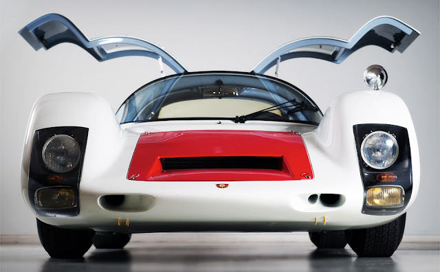 1966 Porsche 906 Carrera Competition Coupe ($900,000-$1.1 million) will have the same effect on you — right before it pins you to the seat. Despite its seemingly meek 220bhp, 2-liter flat-six cylinder engine, the car — commonly referred to at the time as the Carrera 6 — offers up a top speed of nearly 170 mph, an original multi-tubular chassis frame, and a new FIA-approved roll cage.