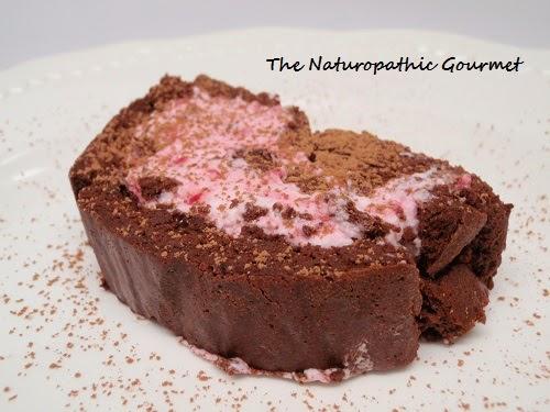 The Naturopathic Gourmet: Dark Chocolate Roulade with ...