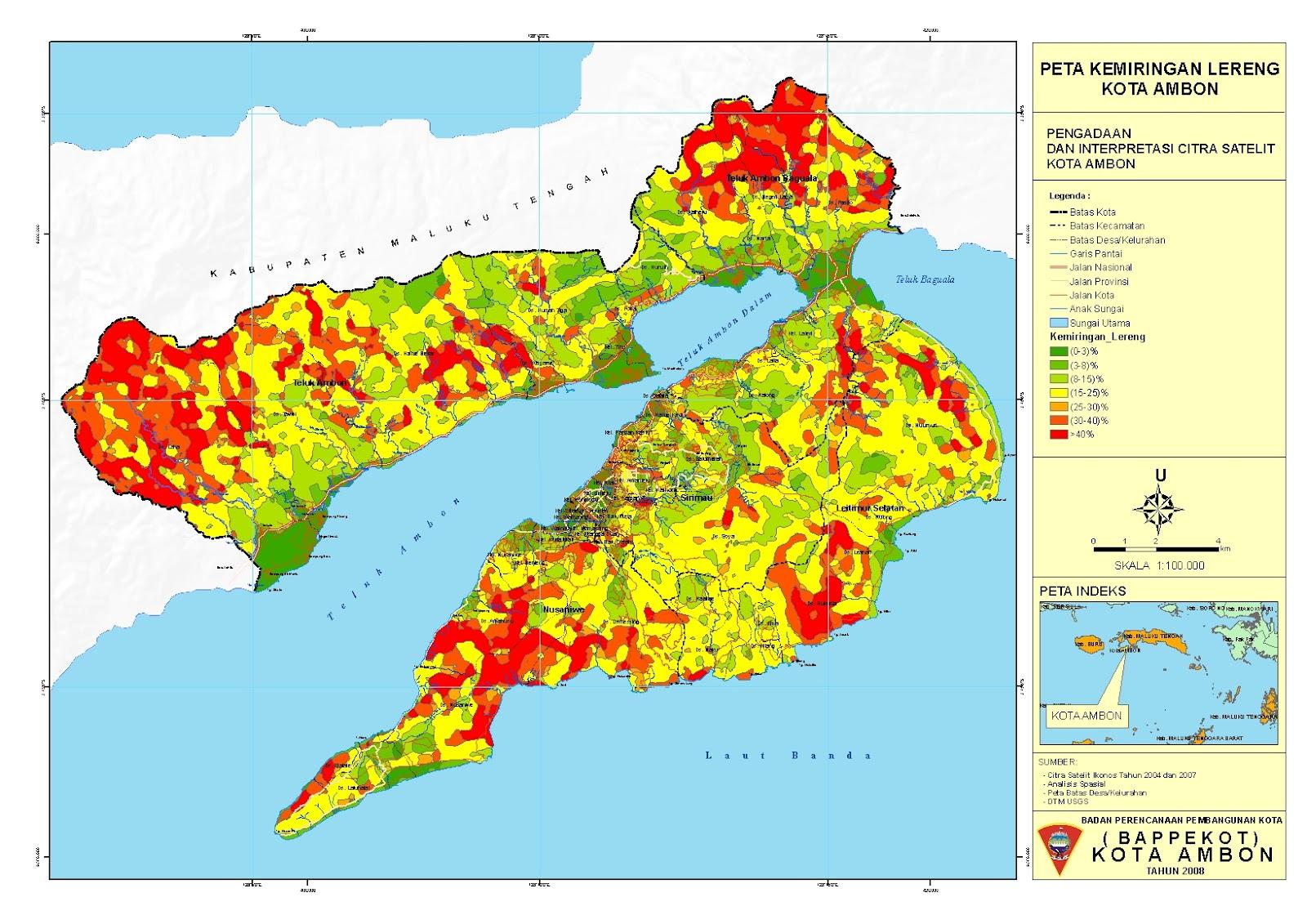 Tampayang Maluku: Koleksi Peta Kota Ambon