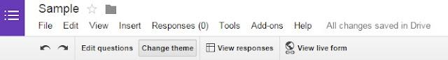 Google drive kuesioner