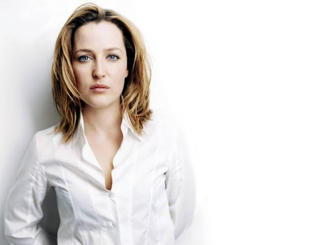 American Actress Gillian Anderson