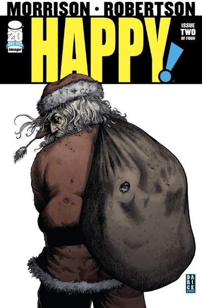 Happy # 2 - Grant Morrison Darick Robertson