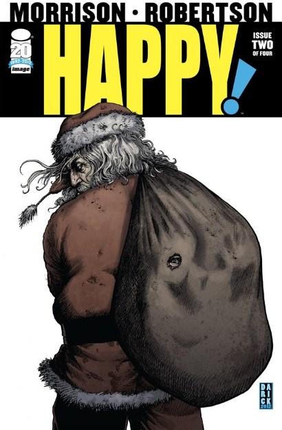 Happy # 2 - Grant Morrison Darick Robertson