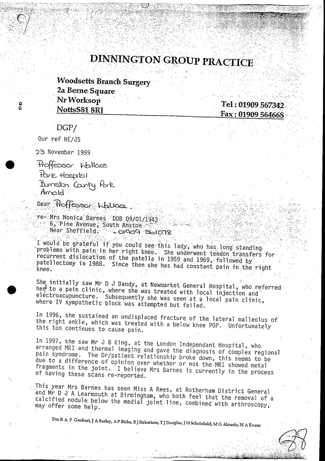 Gp Complaint Letter Template