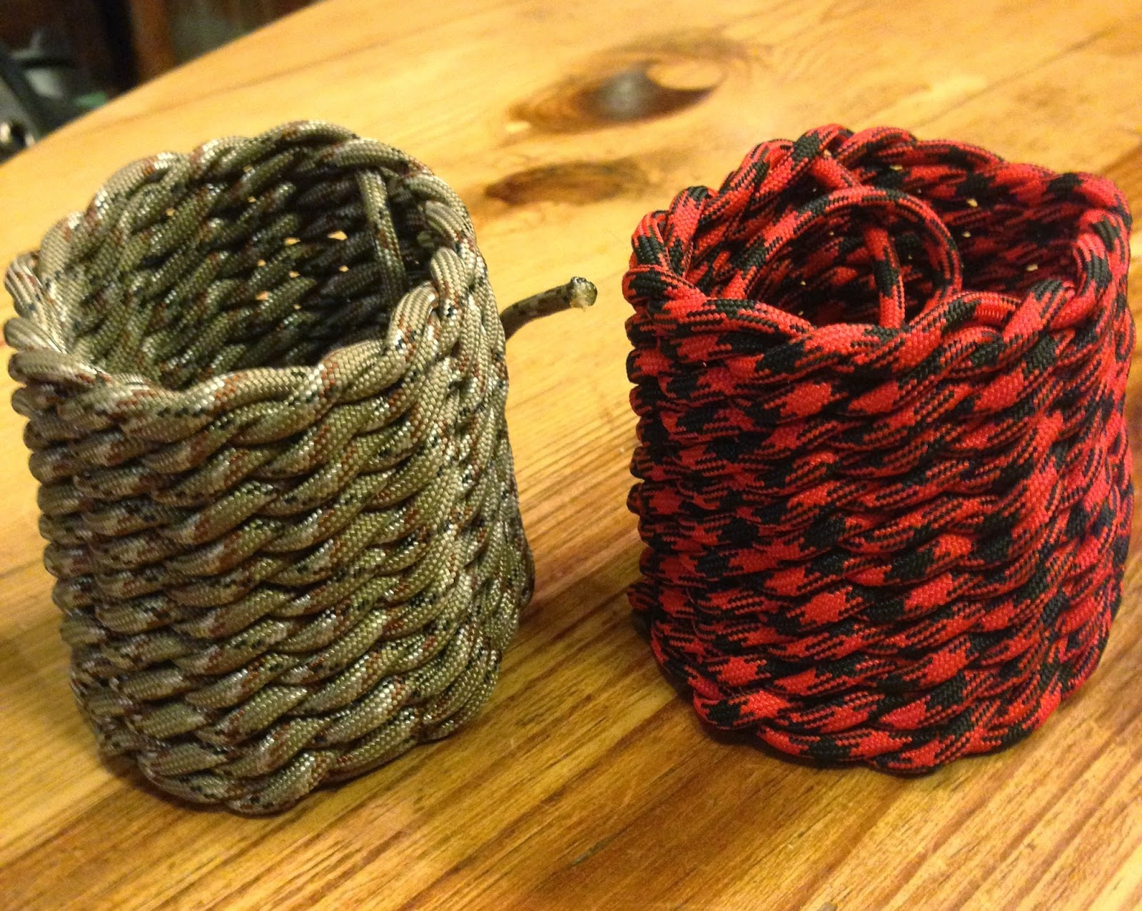 The paracord cowboy horn knots for Things made out of paracord