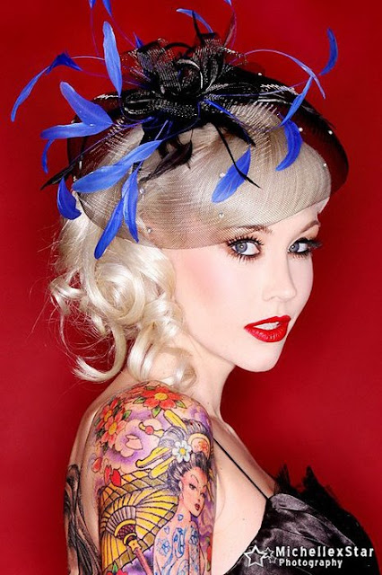 Sabina Kelley pin up Brain Pains
