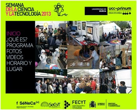 Semana de la ciencia y la tecnología 2013.
