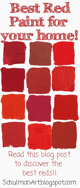 Art Blog For The Inspiration Place Top Ten Picks For Red House Paint
