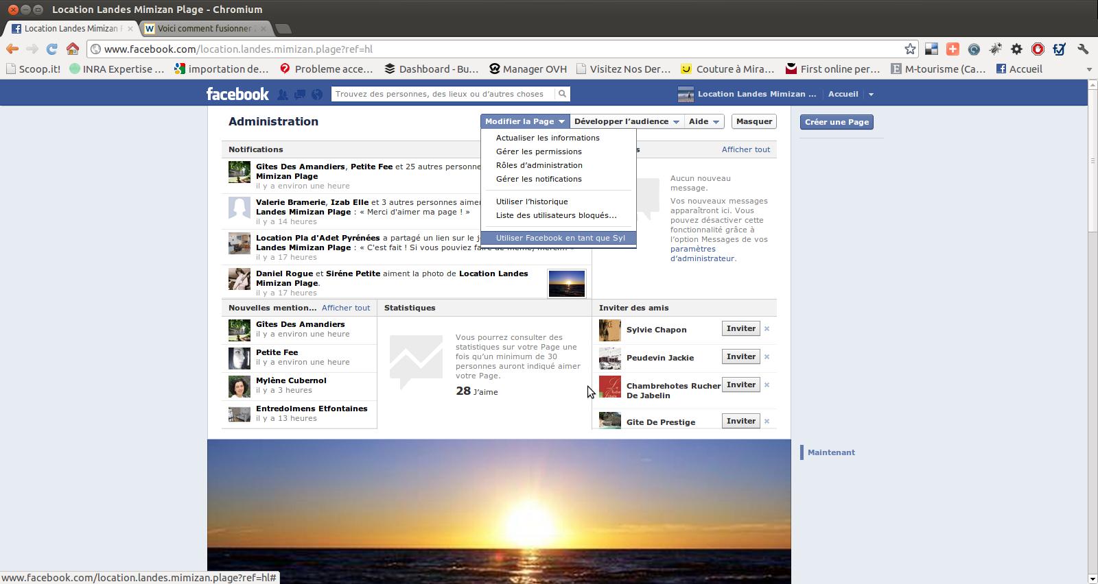 Jonthan Henry Bailey, فايسبوك, سر في الفايسبوك, حساب صاحب الترجمة الفورية, صاحب الترجمة الفورية