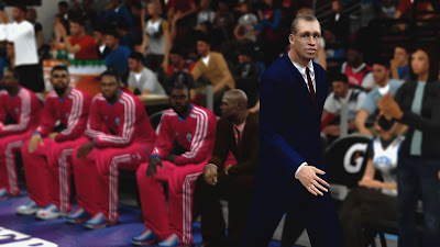 NBA 2K13 PC Mods Doug Collins Cyberface NBA2K Patch