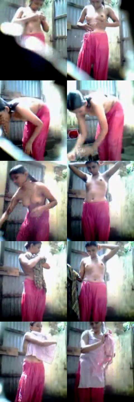 More Hot Pictures From Desi Bengali Bhabi Nude Bath Scene Capture