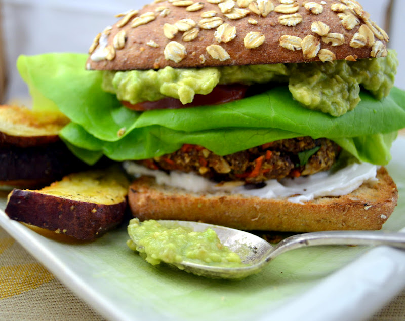 how to make veggie burgers taste good