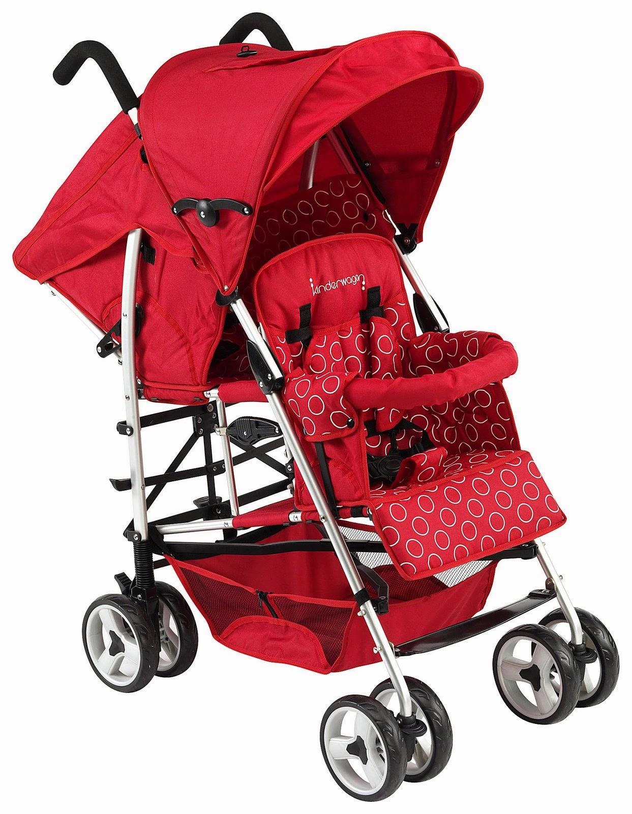 5 top twin stroller