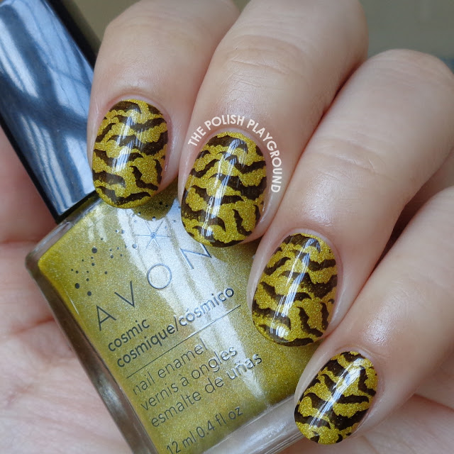 Black Bats Stamping Halloween Inspired Nail Art