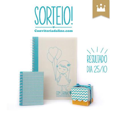 Sorteio Conviteria D'Aline