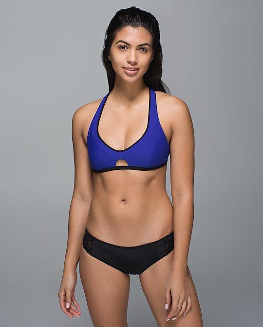 lululemon surf to sand bikini top