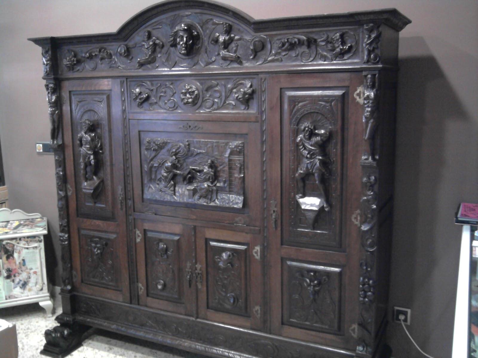 La casa retroencantada mueble de estilo espa ol siglo xix for Mueble castellano restaurado