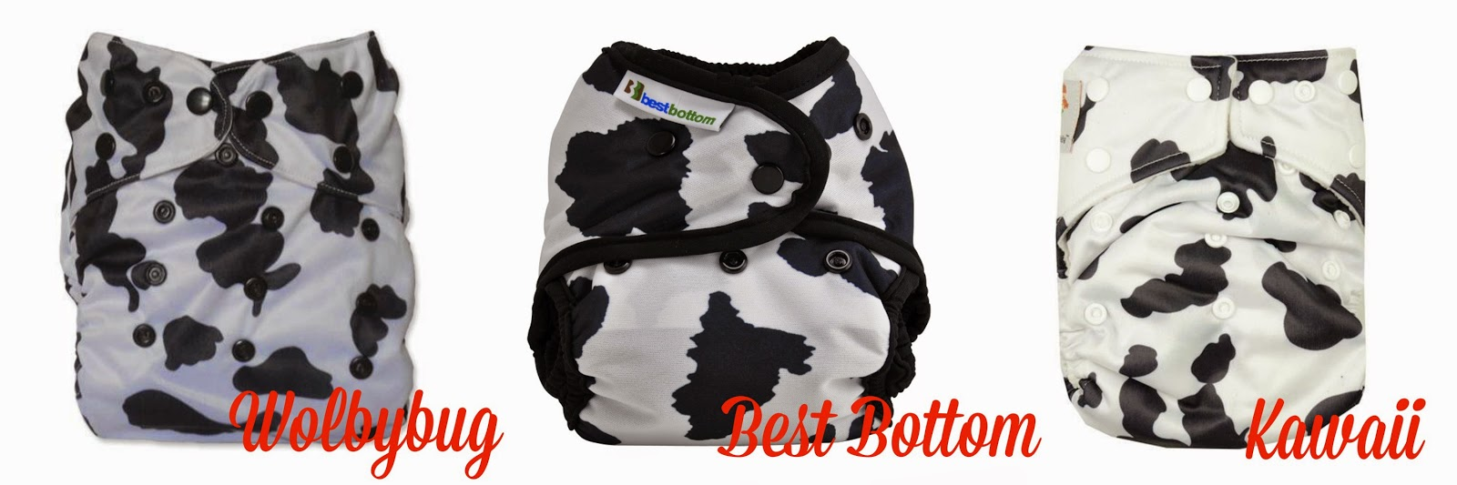 Cow Cloth Diapers