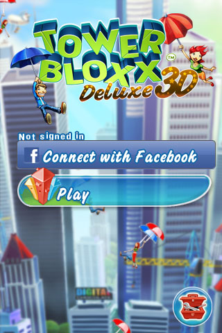 Tower Bloxx Deluxe 3D Free App Game By Digital Chocolate