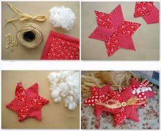Estrellas Patchwork para Navidad, Costura Facil Paso a Paso