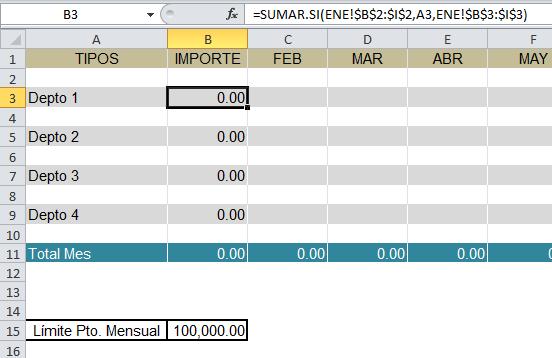 Validación en Excel