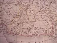 نقشه مستقل بلوچستان در سال 1827