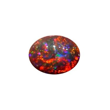 A gemstone noted for its rich iridescence