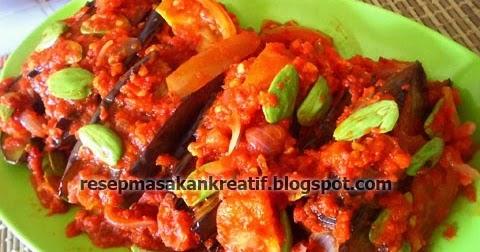resep balado terong ungu pete   aneka resep masakan