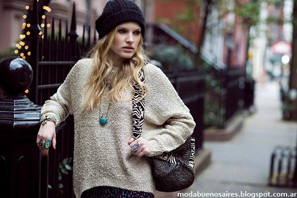 Sweaters otoño invierno 2014 moda India Style.