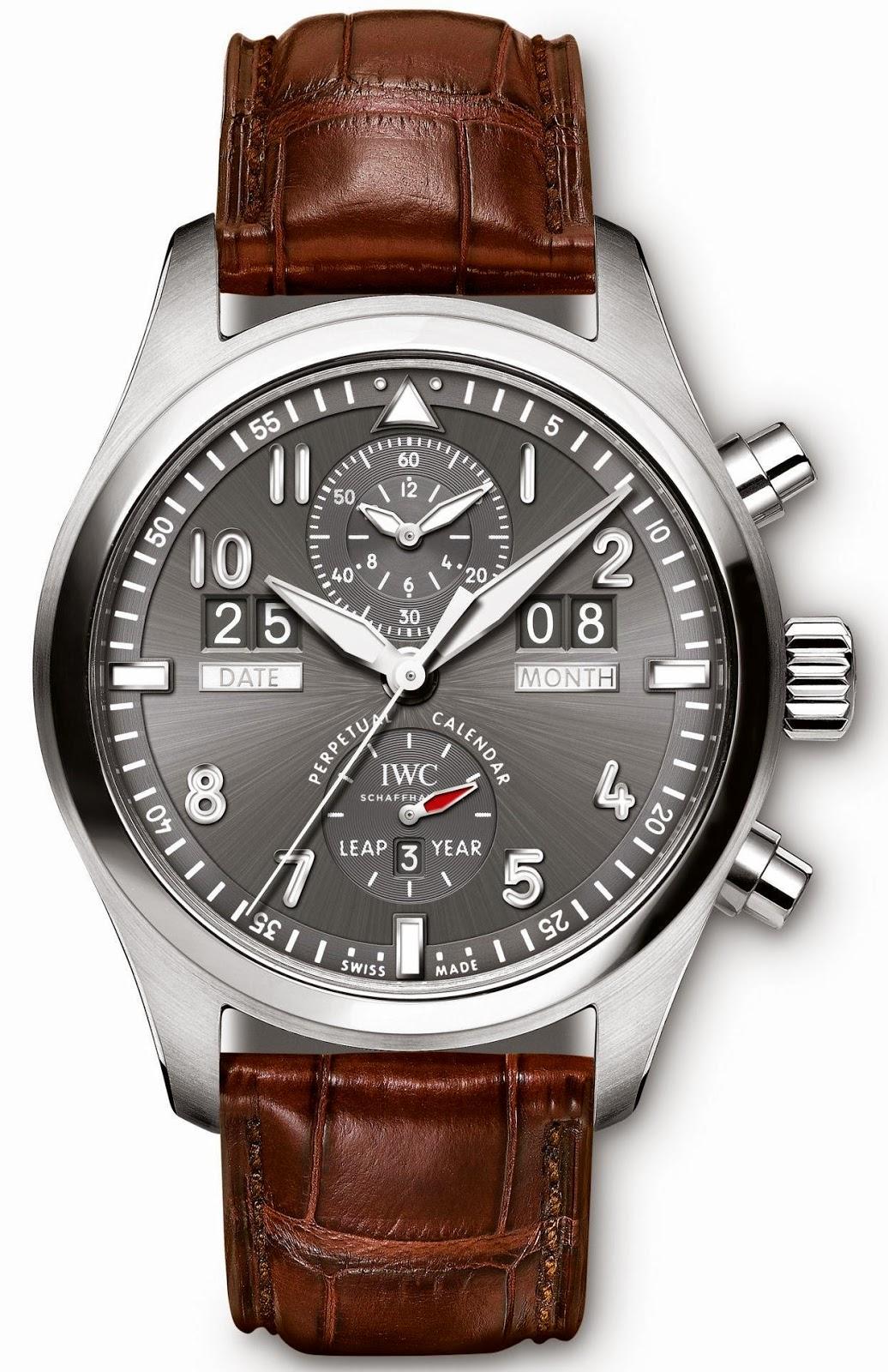 IWC Spitfire Perpetual Calendar Digital Date-Month