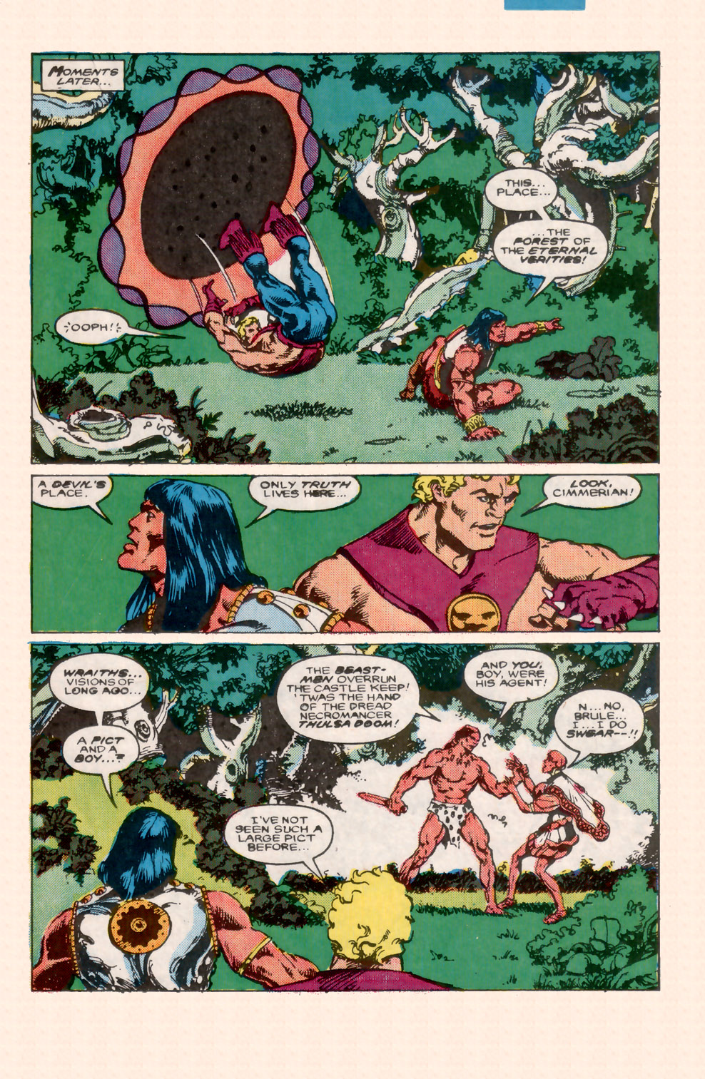 Conan the Barbarian (1970) Issue #199 #211 - English 10