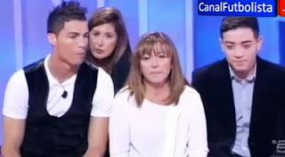 Cristiano Ronaldo reconcilia uma familia em Itália