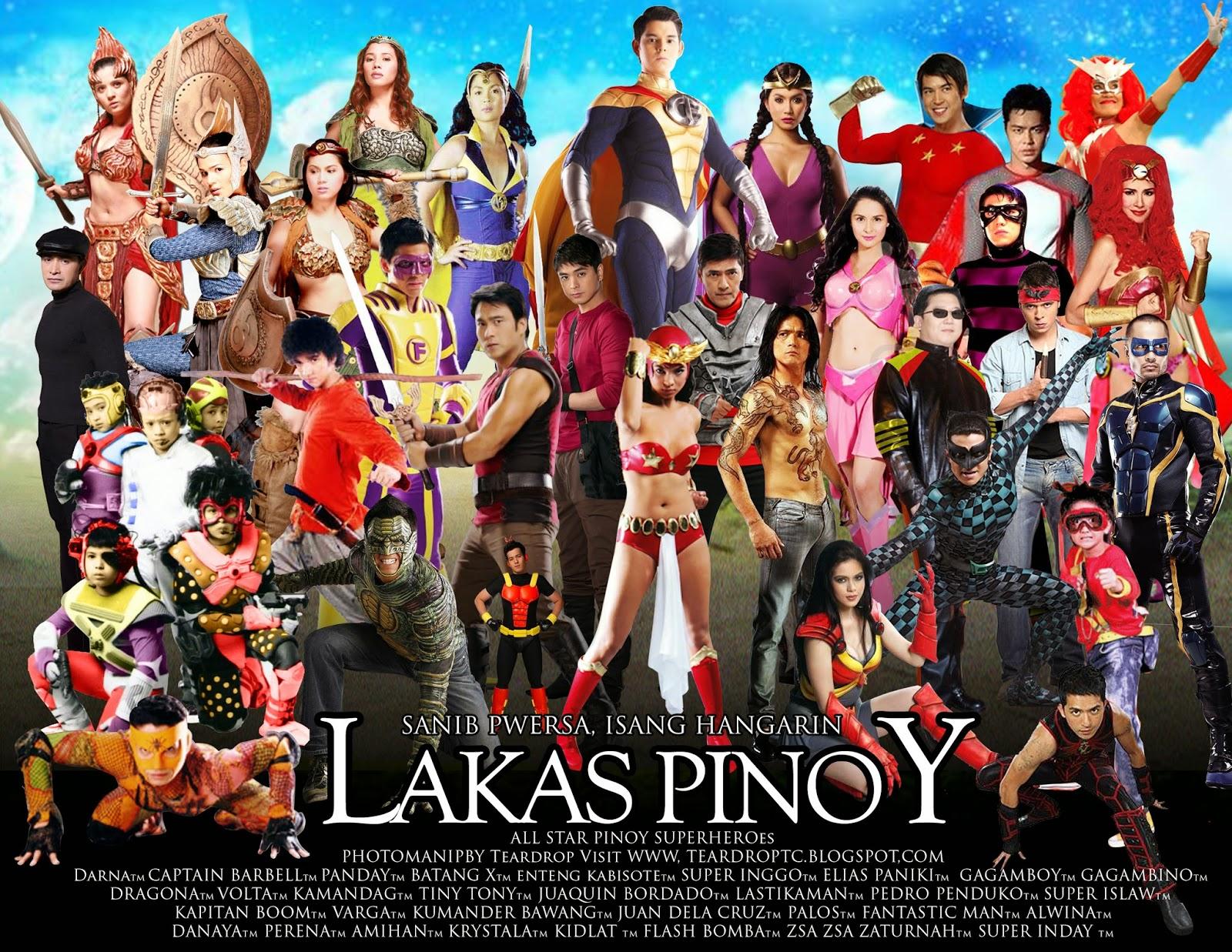 The Teardroptc Show Lakas Pinoy Pinoy Superheroes