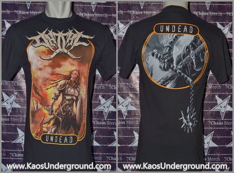 kaos band dajjal deathmetal bandung KaosUnderground.com SevenChaosMerch heretic