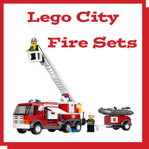unique and funky gifts lego city fire sets