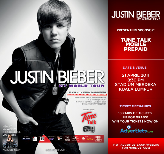 justin bieber live in kl seating. Justin Bieber LIVE in KL
