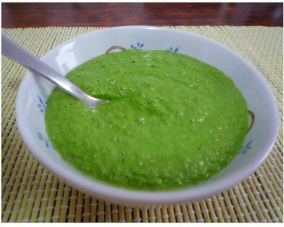 ... con dos Agujas, Crochet, Recetas de Cocina: Salsa Verde Cruda - Receta