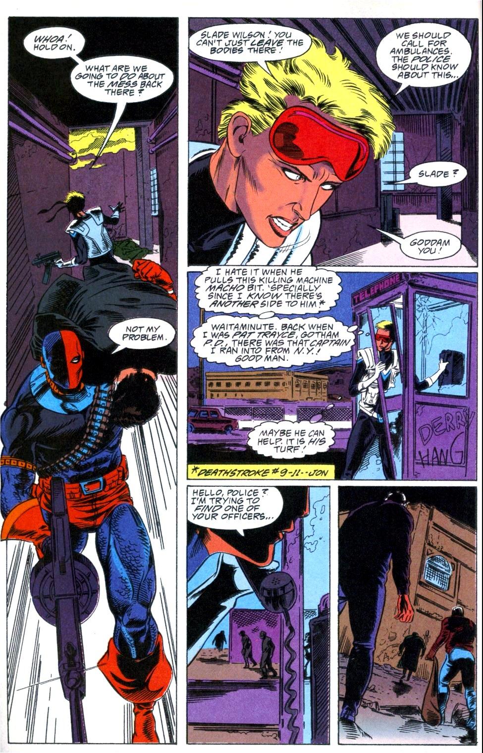 Deathstroke (1991) Annual 1 #1 - English 8