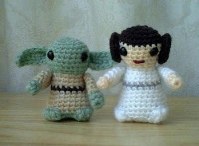 Leia Yoda Crochet