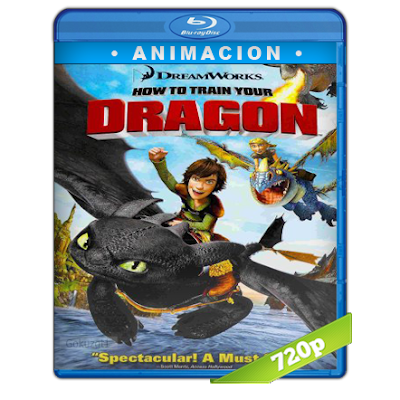Como Entrenar A Tu Dragon (2010) BRRip 720p Audio Trial Latino-Castellano-Ingles 5.1