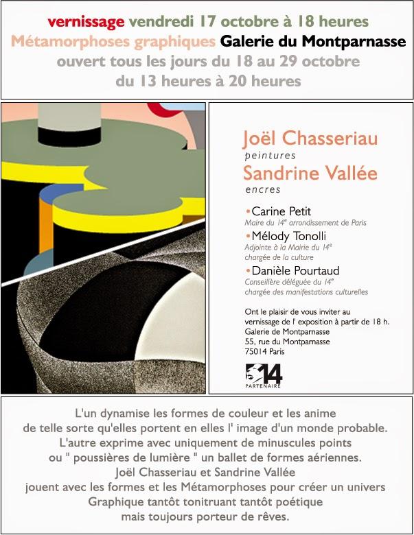 Métamorphoses graphiques - Galerie du Montparnasse