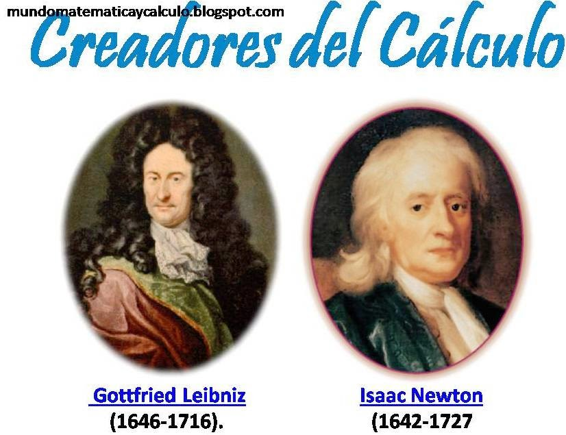 sir issac newton and gottfried wilhelm Newton v leibniz - the calculus controversy in latin, the word 'calculus' means 'pebble,' meaning that small stones were used to calculate things calculus is essentially the study of change, and the.
