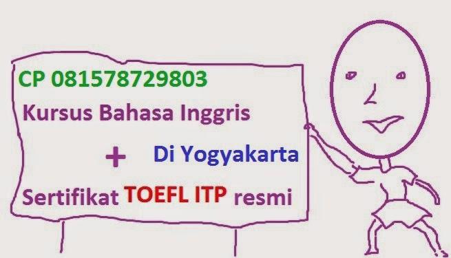 Kursus Inggris, Test TOEFL, Les Inggris,