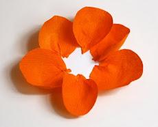 MONTAGEM flor laranja