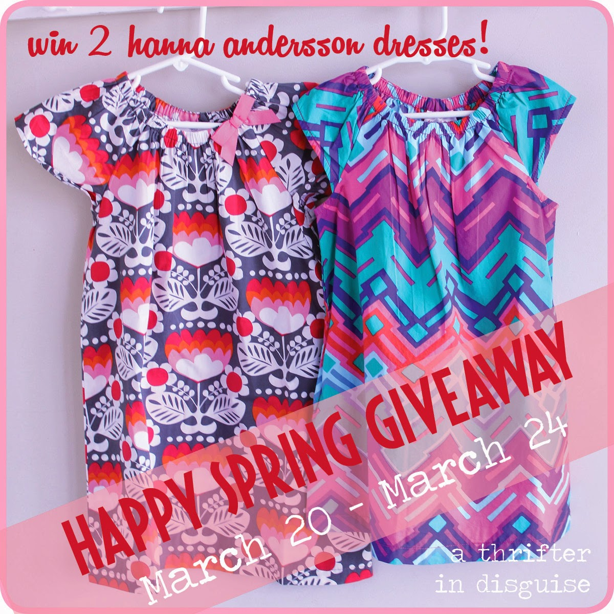 Happy Spring Giveway via thrifterindisguise.com